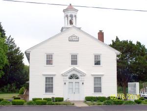 Trinity AME in Gouldtown circa 1860